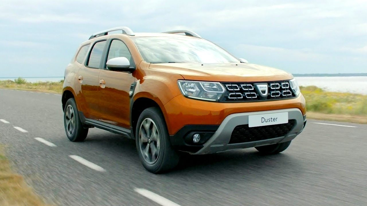new dacia duster 2018 driving footage off road road. Black Bedroom Furniture Sets. Home Design Ideas