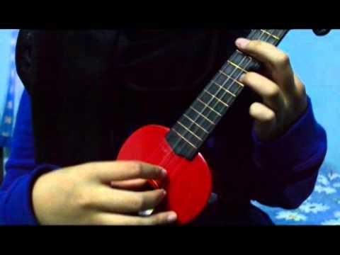 Yuna- Lelaki ukulele tutorial (Intro + strumming) - YouTube