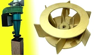Homemade Dust Collector Upgrades (part 1): New Impeller
