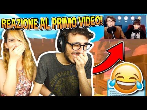 SPECIALE 1 MILIONE DI ISCRITTI!! - REAZIONE AL NOSTRO PRIMO VIDEO