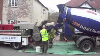 How Concrete Pumping works