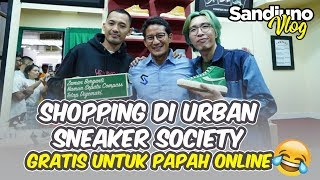 Shopping Di Urban Sneaker Society: Gratis!