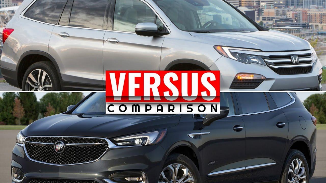 2018 Buick Enclave Avenir vs Honda Pilot - YouTube