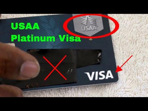 ✅  USAA Rate Advantage Visa Platinum Credit Card Review 🔴