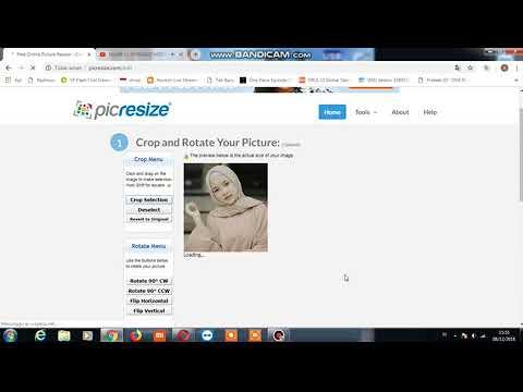 Cara Crop Dan Resize Foto Secara Online Dengan Mudah Dan Cepat Youtube