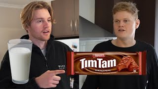 How to correctly d๐ a Tim Tam Slam