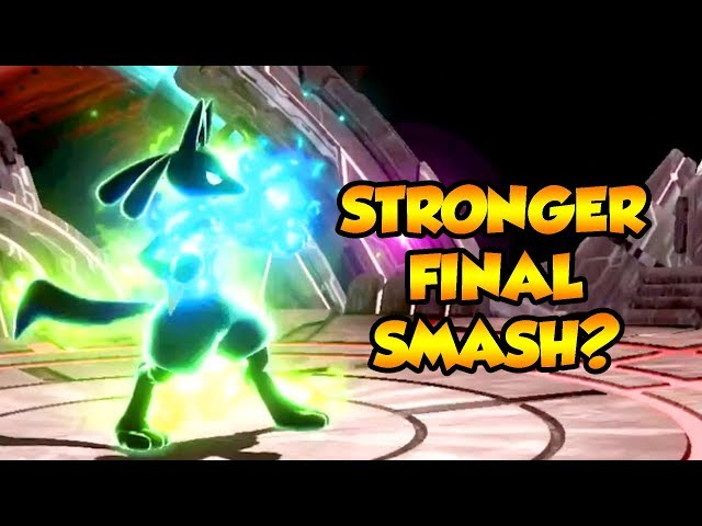 Does Lucarios Aura STRENGTHEN His Final Smash? Mythsmashers #12 (Smash Ultimate)