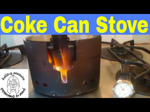 Coke Can Alcohol Stove Swedish Army Mess Kit Youtube