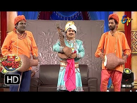 Rocket Raghava Performance | Extra Jabardasth |  21st  September 2018 | ETV  Telugu