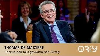 Thomas de Maizière über Freunde in der Politik // 3nach9