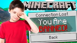 HIDE AND SEEK WITH MY LITTLE BROTHER IN MINECRAFT!