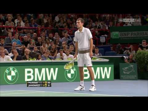 ATP Masters 1000 Paris 2012 R3 Janowicz vs Murray
