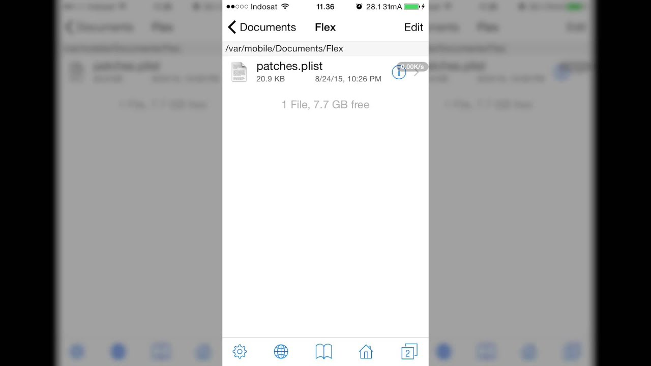 How to delete ifile bookmarks folder