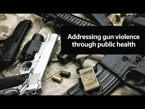 A Public Health Approach Could Address Gun Violence