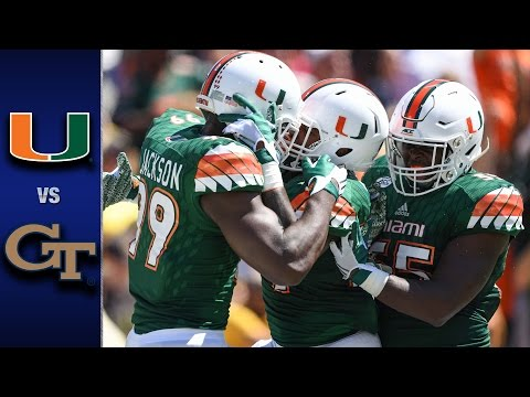 Miami football starts well in ACC with Manny Diaz leading defense