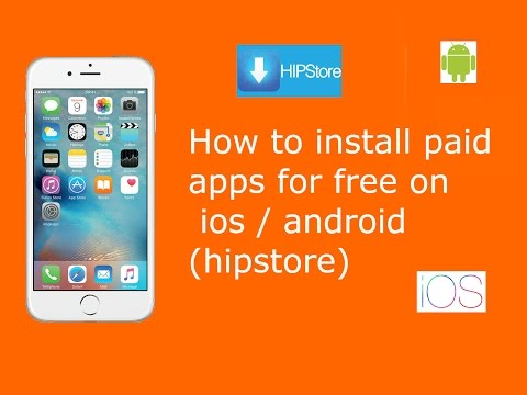 How To Install Paid Apps For Free On Ios / Android (hipstore)