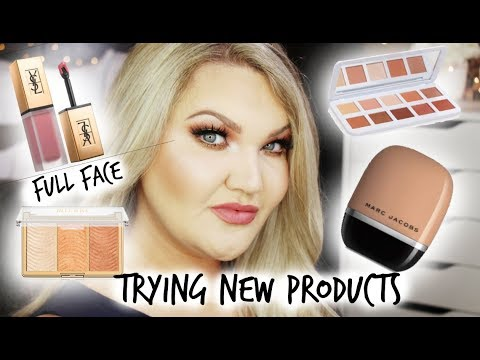 FULL FACE FIRST IMPRESSIONS   TRYING NEW PRODUCTS