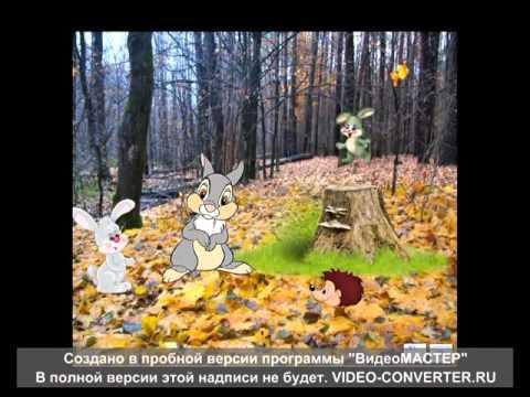 мультфильм Как звери к зиме готовятся