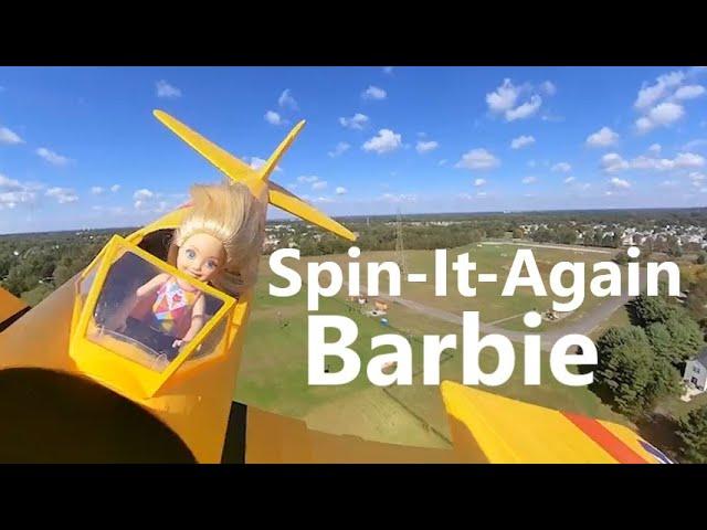 SPIN-IT-AGAIN  Barbie - Aviatrix