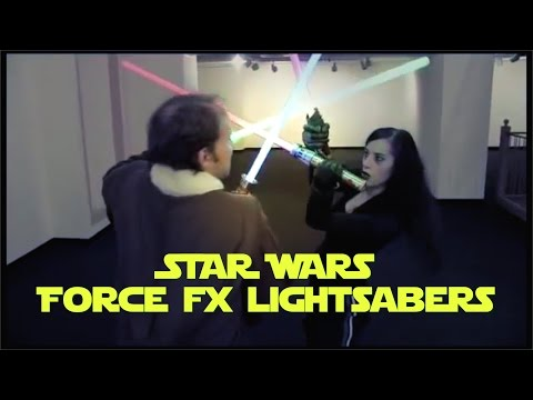 Star Wars Force FX Lightsabers from ThinkGeek