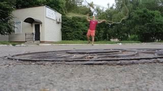 САМЫЙ Простой и Удобный способ заброса КАСТИНГОВОЙ СЕТИ. ИСПАНКА 5 метров. Cast Net Instructions
