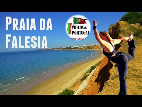 Praia da Falésia Albufeira Algarve - Videos Portugal Travel