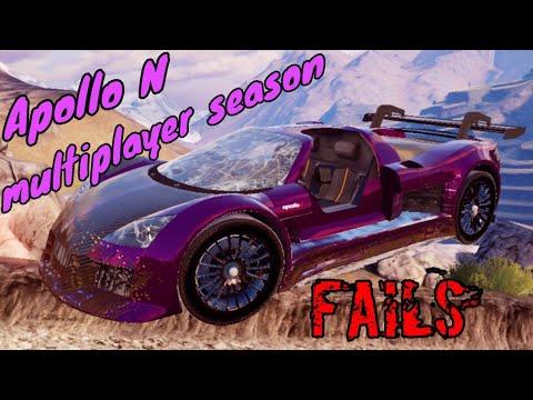 "Download Asphalt 9 - ""Apollo N"" multiplayer season FAILS"