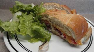 Meal-in-one Baked Dinner Sandwich