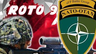 NATO EFP BATTLEGROUP LATVIA ROTO 9