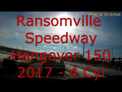 Ransomville Speedway Hangover 150 - 2017 - 4 Cyl