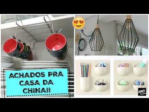 ACHADOS PRA CASA DA CHINA