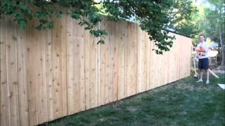 Building A Backyard Fence