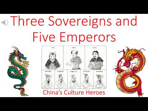 History of China: Three Sovereigns and Five Emperors