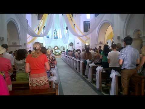 Католическая служба в Красном Костеле в Минске