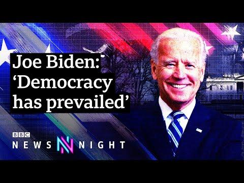 President Joe Biden takes office amid multiple crises - BBC Newsnight