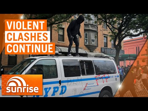 United States riots: Violent clashes have continued across the US | 7NEWS