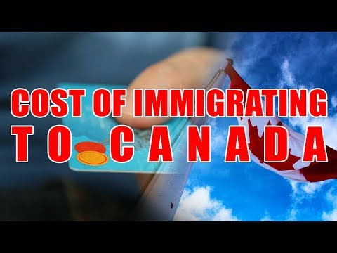 COST OF IMMIGRATING