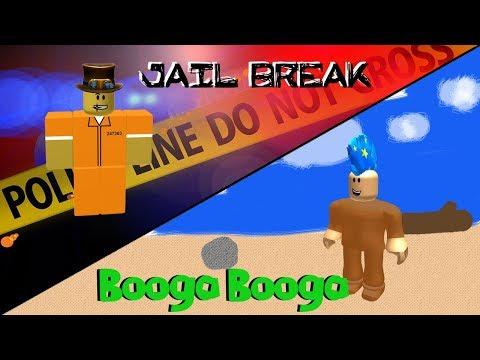 Roblox in Real Life | Jail Break | Treasure Hunt Simulator | Booga Booga
