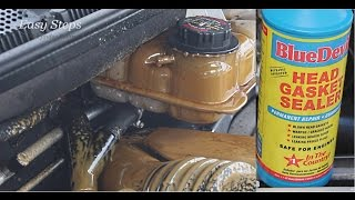 How To Fix Coolant Mixing With Engine Oil in Mercedes W163 | Milkshake Gunk | BlueDevil