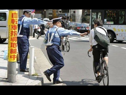 Велосипед в Японии -  Самые большие штрафы для велосипедистов