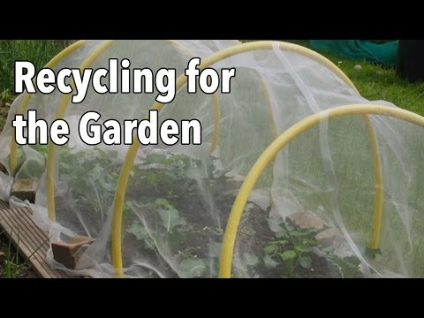 Recycling for the Garden: Upcycling Items for a More Productive Vegetable Garden