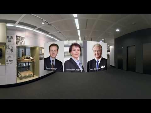 360° virtual tour through the Kapsch corporate museum