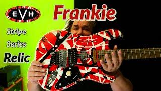 2020 EVH Striped Series Frankie