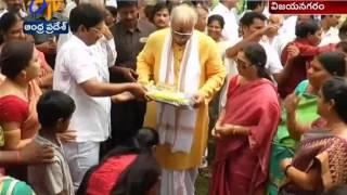 Ashok Gajapathi Raju Birthday Celebrations in Vizianagaram