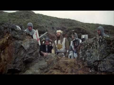 Monty Python and the Holy Grail - Bunny Attack Scene (HD)