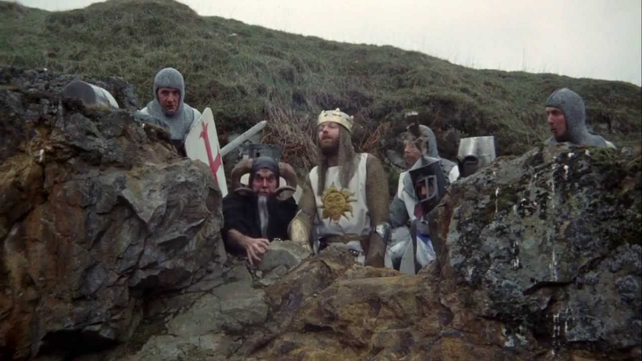 Download Monty Python and the Holy Grail - Bunny Attack Scene (HD)