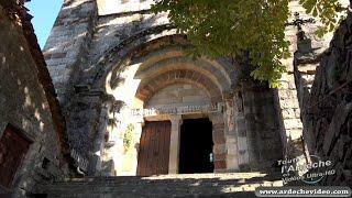 Thines, un magnifique village (Ardèche) (4K)