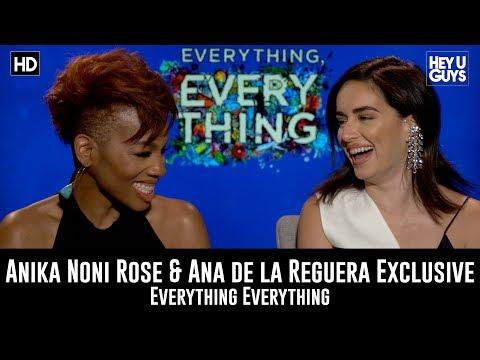 Ana de la Reguera & Anika Noni Rose Everything Everything Movie Exclusive