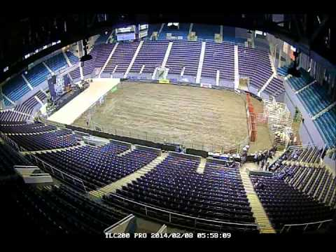 Cincinnati Gardens change over time lapse Bulls Joe Nichols 2014