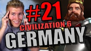 SCIENCE VICTORY! Civilization 6 Gameplay - Germany [Civ 6 Let's Play] Part 21